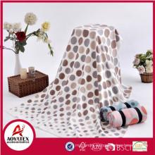 precio de fábrica textiles para el hogar nueva manta de lana polar de diseño