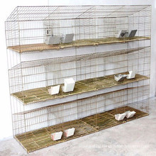 Wire Mesh Layer Breeding Cage for the Rabbit Automatic Water System with Tray 9 cells