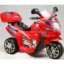 Baby Electric Ride en motocicleta