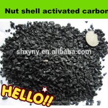 Granulierte Nussschale Aktivkohle 1-2mm