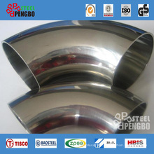 Stainless Steel Sch40 90 Degree Pipe Elbow