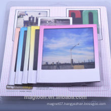 2015 best selling sexy colorful magnetic picture photo frame