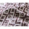 The Simple Rhombus Jacquard Sofa Fabric for Furniture