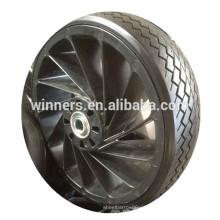 Neumáticos de caucho macizo de 12 pulgadas con rueda de goma maciza