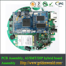 Carrier Board Módulo electrónico para un sistema host PCBA Assembly