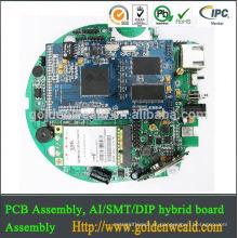 Módulo eletrônico da placa de transporte para um sistema PCBA host