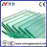 CE certified building clear  6mm tempered glass