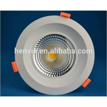 High quality PWM / Dali dimmer 80Ra 40 watt led downlight