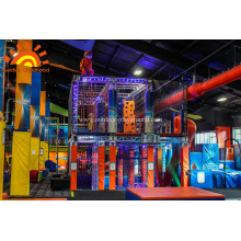Indoor Ninja Warrior Gym For Adult