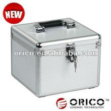 """ORICO 10bay 3.5 """"caso del alluminium HDD, caja de la protección de HDD, caso externo de HDD, protector de HDD, caja de almacenaje de HDD,"""