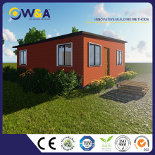 (WAS1011-24D)China Comfortable Living Light Steel Prefab Villa House For Sale