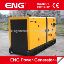 China motor Quanchai 12kw generador silencioso 3phase 50hz portátil silencioso silencioso