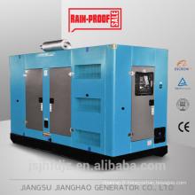 Avec CCEC CUMMINS générateur diesel résistant aux intempéries 300kva