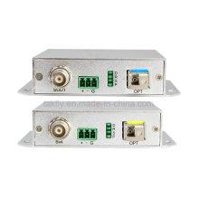 Transmisor y receptor de video Sdi Converter con RS485