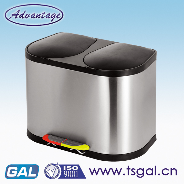 Double bin for home appliance