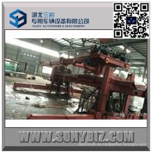 Cuerpo superior del camión de auxilio del rotador de desplazamiento de 50 toneladas