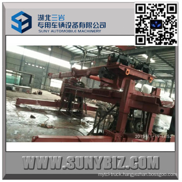 50 Ton Sliding Rotator Heavy Duty Wrecker Upper Body
