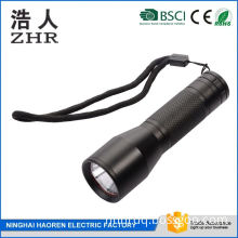 AAA Battery Power Supply Water Resistant High Power Flashlight