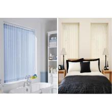 Cortinas verticais / cortinas de cordas Cortinas de rolos Tecidos com acessórios