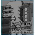 Torno de torneado del CNC del CNC de la nueva condición BS203 mini Torno de torneado automático del CNC de 3 AXIS para las ventas