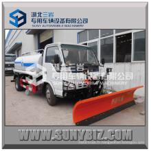 Camion de Sprinckle d'eau de camion de réservoir d'eau d'Isuzu 4 * 2 5m3