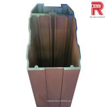 6063 Janela de liga / porta Perfis de alumínio / alumínio para o transporte