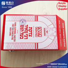 Accept Custom China Supplier Acrylic Standing Donation Boxes