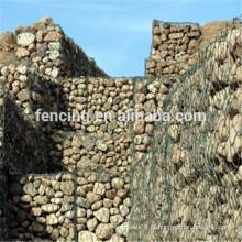 gabion hexagonal de proteção de banco rio pesado