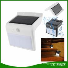 Nouvelle Arrivée 16 LED Solaire Capteur Jardin Sécurité Lampe Extérieure Étanche Solaire Escalier Lumière