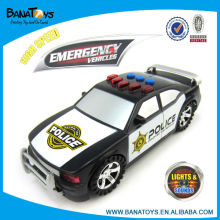 Police kids electric toys car