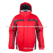 Man's Ski Jacket, Windproof, Waterproof, Breathable Fabric, Made in China