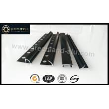 Guarnições de alumínio para telhas (anodizado preto)