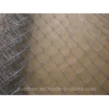 Alta Qualidade Chain Link Fence (PVC revestido e galvanizado)