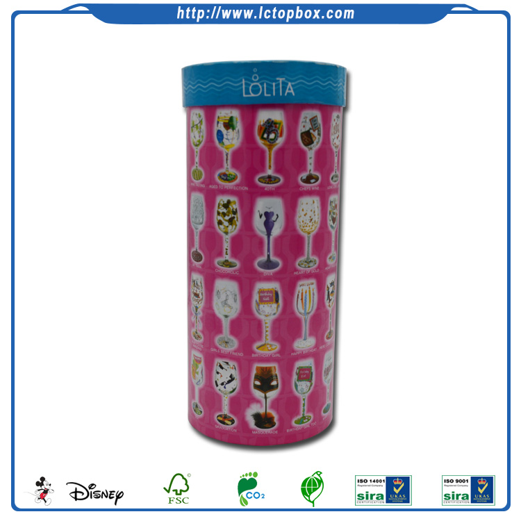 Fancy Reasonable Price Cylinder Shape Gift Box