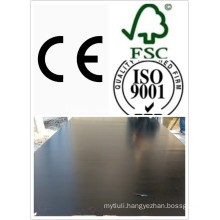15mm Black Film Faced Plywood WBP Glue Poplar Core (HB009)