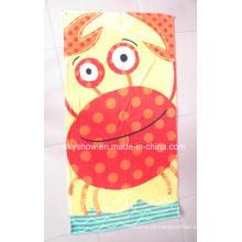 Пляжное полотенце яркого цвета дизайна OEM (SST0269)