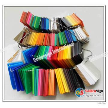 Fabricant de feuille acrylique de fonte (épaisseur chaude pour 2mm-20mm)