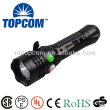 high power led red green signal flashlight