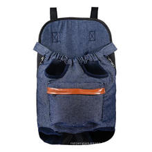 Outdoor Pet Holder Bag with Sling Front Chest Backpack Legs out Front Carrier for Small Dog Cat Puppy