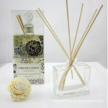 Home Fragrance Reed Diffuser Set 150ml Glass Bottle Aroma Diffuser With Plastic Plunger Ts-rd34