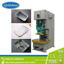 Máquina de fabricación de placa de papel de aluminio