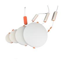 New style aluminum lamp ultra-thin body frameless led panel light 18w