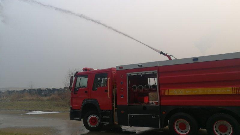 Fire Fighting Truck