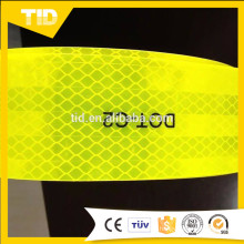 Cinta reflectante fluorescente amarilla DOT-C2