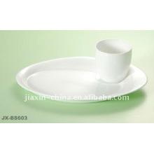 desayuno de porcelana