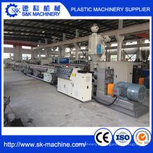 Máquina de extrusão de tubos de plástico PPR