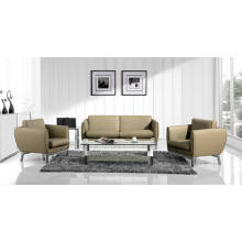 (SS-045) Commercial Furniture PVC Office Sofa