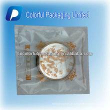 Heißer Verkauf dreiseitige Dichtung Klar Transparentem Kunststoff Mond Kuchen / Braten Kuchen Tasche / Beutel Mit Thema Bild