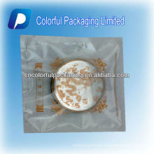 Venta caliente de tres lados Seal Clear Plastic Plastic Moon Cake / Roast Cake Bag / Pouch With Theme Picture