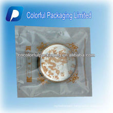 Hot Sale Three-side Seal Clear Transparent Plastic Moon Cake/Roast Cake Bag/Pouch With Theme Picture